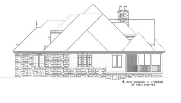 House Plan Design - European Floor Plan - Other Floor Plan #929-930