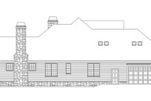 Architectural House Design - Country Exterior - Other Elevation Plan #929-955