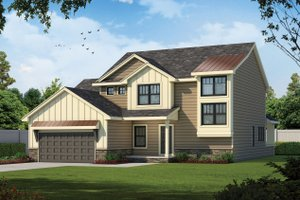 Traditional Exterior - Front Elevation Plan #20-2403