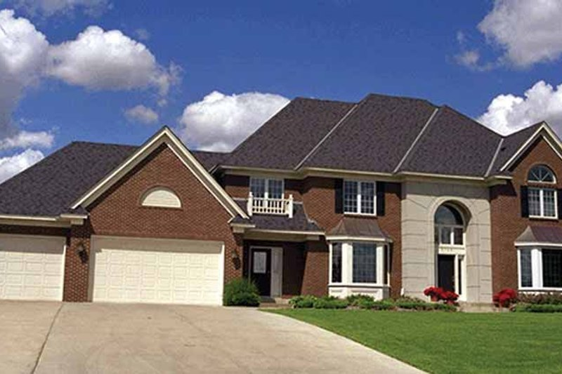Traditional Exterior - Front Elevation Plan #51-771 - Houseplans.com