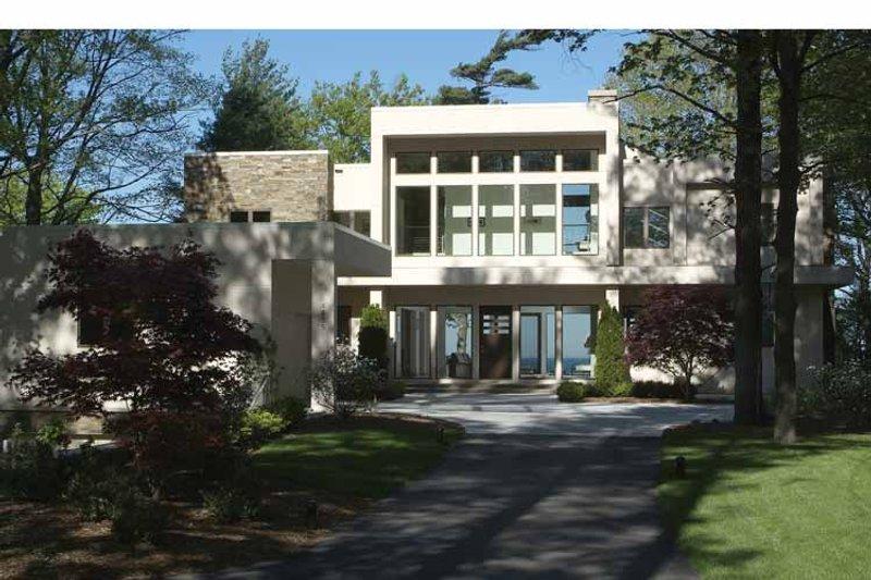 Contemporary Exterior - Front Elevation Plan #928-77 - Houseplans.com