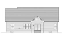 Architectural House Design - Ranch Exterior - Rear Elevation Plan #1010-43