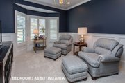 Ranch Style House Plan - 3 Beds 2 Baths 2784 Sq/Ft Plan #70-1467 Interior - Bedroom