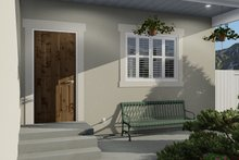 Traditional Exterior - Covered Porch Plan #1060-54