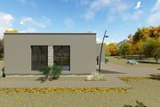 Modern Style House Plan - 3 Beds 2 Baths 1418 Sq/Ft Plan #549-22 Exterior - Other Elevation