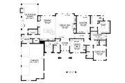 European Style House Plan - 3 Beds 2.5 Baths 3041 Sq/Ft Plan #48-672 Floor Plan - Main Floor Plan