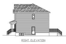 House Plan Design - Traditional Exterior - Other Elevation Plan #138-237