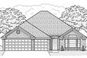 Traditional Style House Plan - 3 Beds 2 Baths 1812 Sq/Ft Plan #65-440 Exterior - Front Elevation