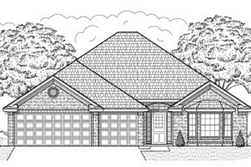 Dream House Plan - Traditional Exterior - Front Elevation Plan #65-440