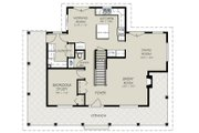 Country Style House Plan - 4 Beds 3 Baths 1802 Sq/Ft Plan #427-3 Floor Plan - Main Floor Plan