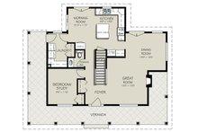 Country Floor Plan - Main Floor Plan Plan #427-3