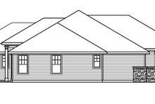 Home Plan - Ranch Exterior - Other Elevation Plan #124-752