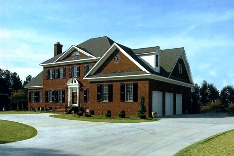 Southern Exterior - Other Elevation Plan #137-170 - Houseplans.com