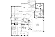 Traditional Style House Plan - 4 Beds 3 Baths 2899 Sq/Ft Plan #927-6 Floor Plan - Main Floor Plan