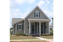 Cottage Exterior - Front Elevation Plan #430-63