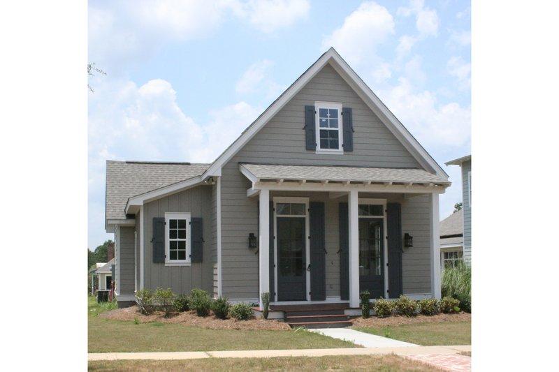 House Plan Design - Cottage Exterior - Front Elevation Plan #430-63