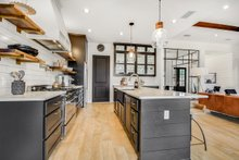 Architectural House Design - Farmhouse Interior - Kitchen Plan #430-156
