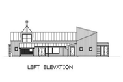 Modern Style House Plan - 3 Beds 2.5 Baths 2504 Sq/Ft Plan #433-2 Exterior - Other Elevation