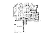 Craftsman Floor Plan - Main Floor Plan Plan #942-30