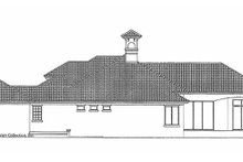 Architectural House Design - Mediterranean Exterior - Other Elevation Plan #930-315