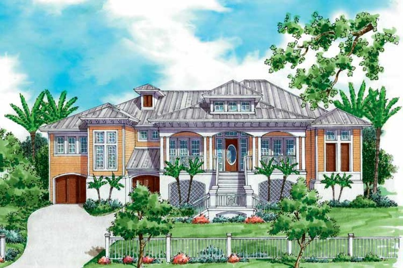 Country Exterior - Front Elevation Plan #930-173 - Houseplans.com