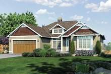Home Plan - Traditional Exterior - Front Elevation Plan #48-860