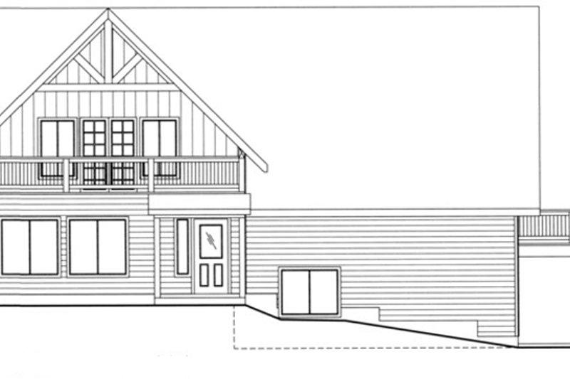 Exterior - Front Elevation Plan #117-829 - Houseplans.com