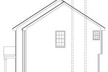 Colonial Exterior - Other Elevation Plan #1053-66