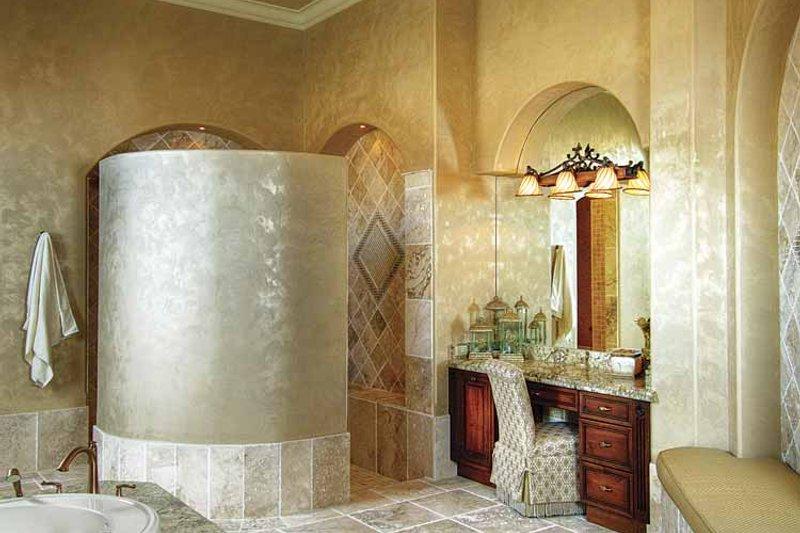 Mediterranean Interior - Master Bathroom Plan #930-418 - Houseplans.com
