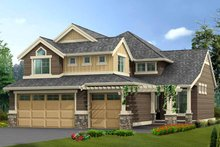 Dream House Plan - Craftsman Exterior - Front Elevation Plan #132-361