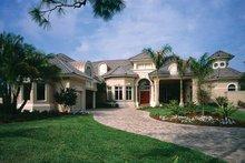 Dream House Plan - Mediterranean Exterior - Front Elevation Plan #930-320
