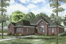 House Plan Design - Traditional Exterior - Front Elevation Plan #17-2849