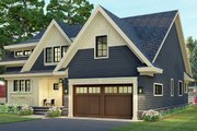 Craftsman Style House Plan - 3 Beds 2.5 Baths 2793 Sq/Ft Plan #51-1173 Exterior - Front Elevation