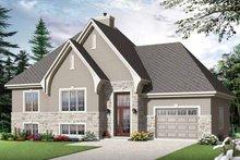 Home Plan - European Exterior - Front Elevation Plan #23-2540