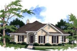 Traditional Exterior - Front Elevation Plan #37-187