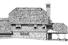 Craftsman Exterior - Rear Elevation Plan #942-26