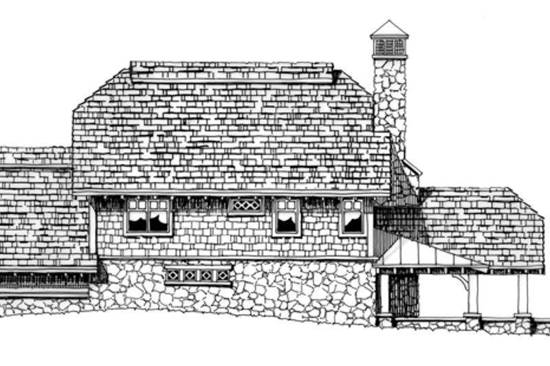 Craftsman Exterior - Rear Elevation Plan #942-26 - Houseplans.com