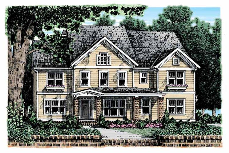 Craftsman Exterior - Front Elevation Plan #927-908 - Houseplans.com