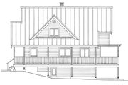 Cabin Style House Plan - 3 Beds 2 Baths 1370 Sq/Ft Plan #118-167 Exterior - Other Elevation
