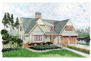 Craftsman Style House Plan - 3 Beds 4 Baths 2944 Sq/Ft Plan #928-230 Exterior - Front Elevation