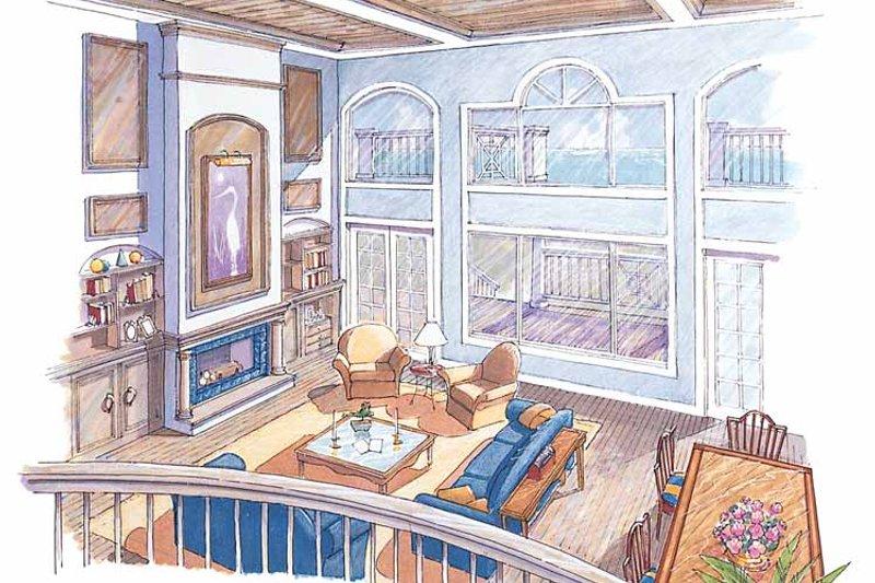 Classical Interior - Family Room Plan #930-76 - Houseplans.com