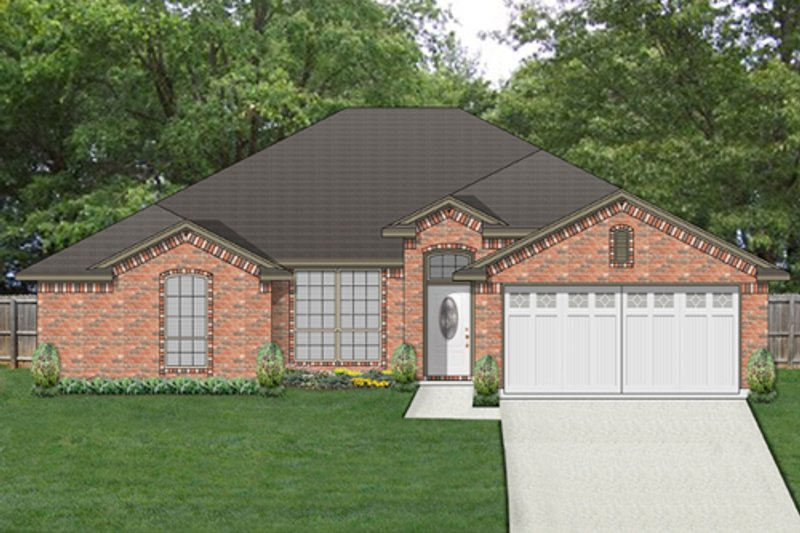 Home Plan Design - Traditional Exterior - Front Elevation Plan #84-552