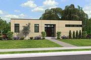 Modern Style House Plan - 2 Beds 2 Baths 1286 Sq/Ft Plan #48-469
