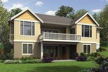 Craftsman Exterior - Rear Elevation Plan #48-972