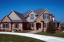 House Design - Traditional Exterior - Front Elevation Plan #20-1671