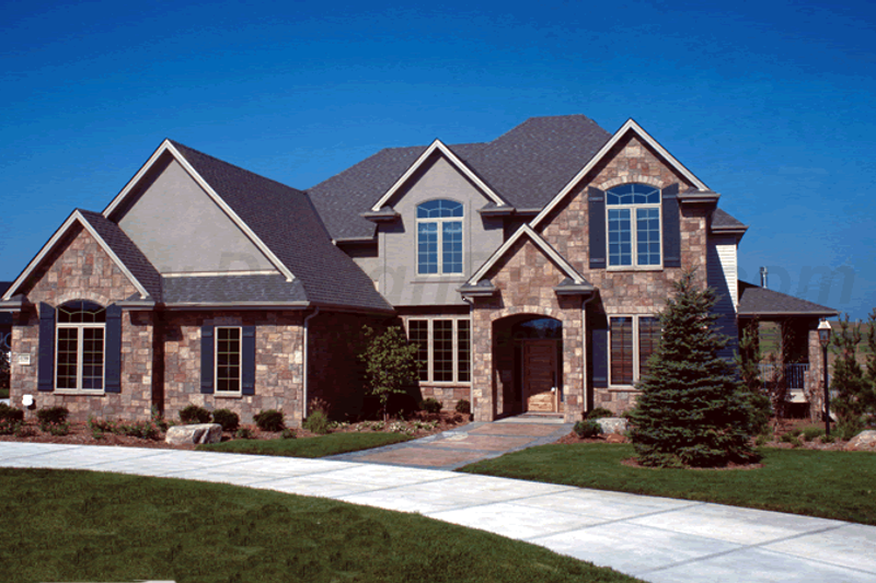 Traditional Style House Plan - 4 Beds 4 Baths 3250 Sq/Ft Plan #20-1671