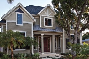 Traditional Exterior - Front Elevation Plan #930-441