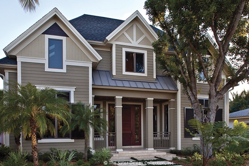Architectural House Design - Traditional Exterior - Front Elevation Plan #930-441