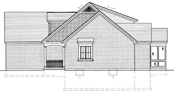 Country Floor Plan - Other Floor Plan Plan #46-677