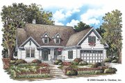 Country Style House Plan - 3 Beds 2 Baths 1536 Sq/Ft Plan #929-747 Exterior - Front Elevation